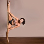 Amy: Instructor - Vertigal Aerial Fitness: Canberra Pole Dancing