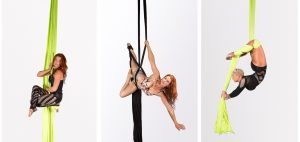 Silks and Lyra Page Image - Vertigal Aerial Fitness: Canberra Pole Dancing